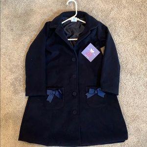 Joe Ella Jackets & Coats - Joe Ella Navy girl's PeaCoat, NWT, Size 7